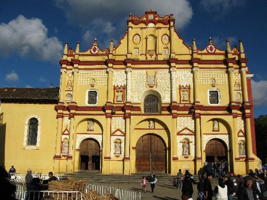 San Cristobal de las Casas, Mexiko: l'eglise