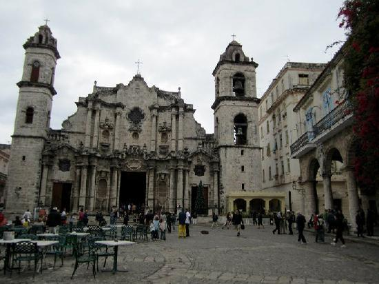 Havana Cathedral: From outside