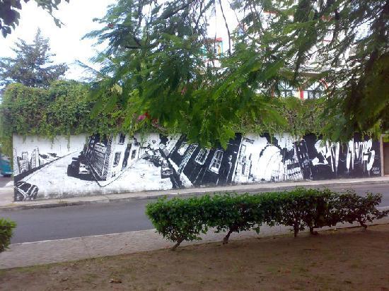 Hostel Quetzal: Hostel's faccade