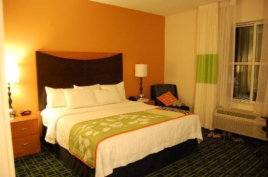 Fairfield Inn & Suites Orlando at SeaWorld: camera letto king size