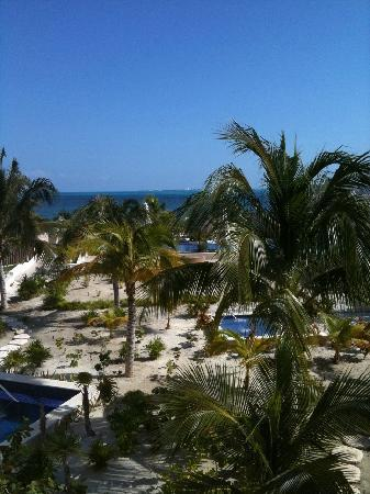 Beloved Playa Mujeres: View from Beachfront 2-story Casita w/ Plunge Pool