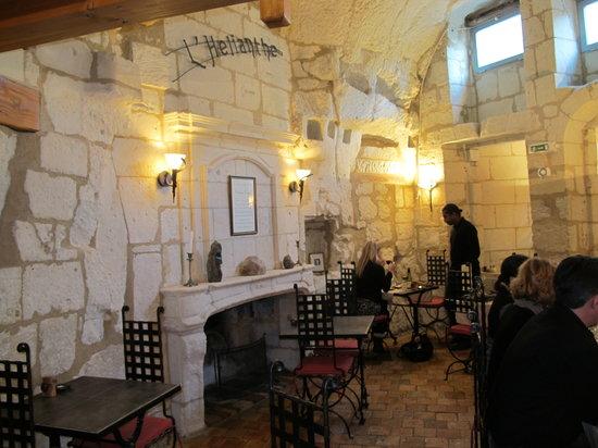 L'Helianthe : intérieur du restaurant