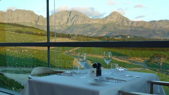 The Restaurant at Waterkloof : Die besten Plätze blieben leider leer