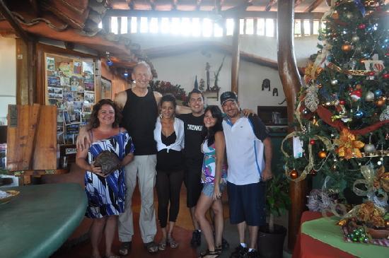 Posada Los Mangos: pessoas maravilhosas