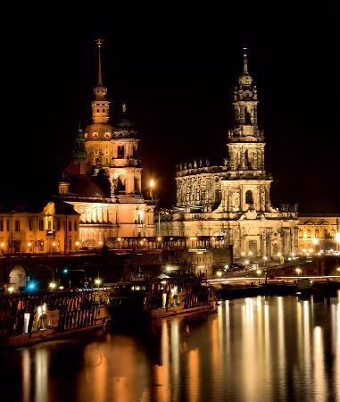 Dresden, Alemania: dreden bei Nacht