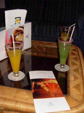 Hipotels La Geria : All inclusive cocktails.