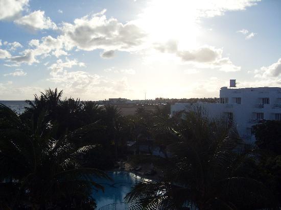 Hipotels La Geria: Balcony view.