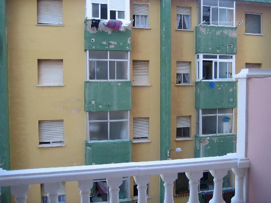 Los Delfines Hotel: vistas desde la habitación