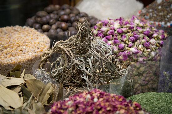 迪拜黄金香料市场