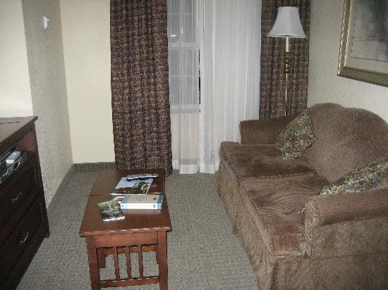 Staybridge Suites Greenville I-85 Woodruff Road : living room