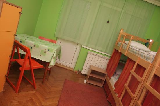 In Old Shoes Hostel: Dormitory Room
