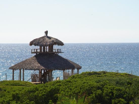 Villa Santa Cruz: Beach hut - perfect for sunsets!