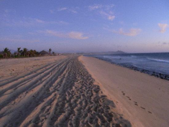 Villa Santa Cruz: Super quiet and relaxing beach scene