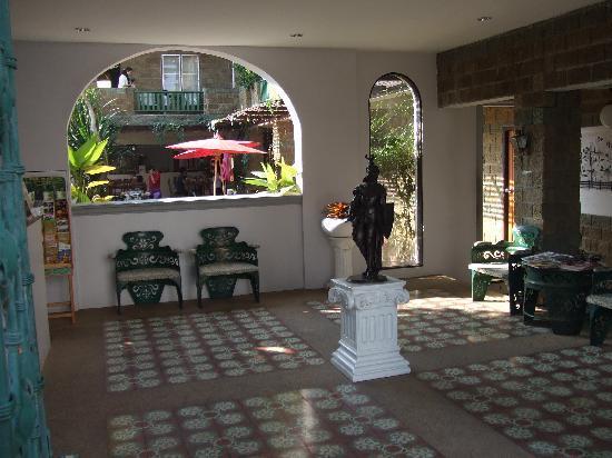 The Castle: Reception area
