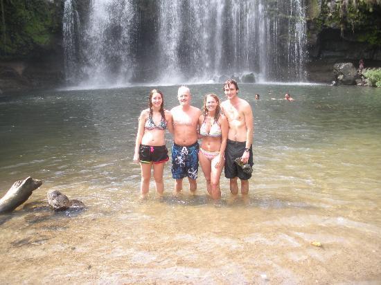 Rancho Armadillo Estate: Local waterfall