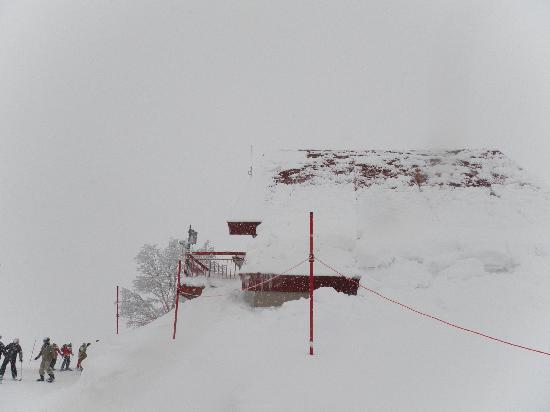 Hakuba-mura, Japan: 頂上の八方山荘