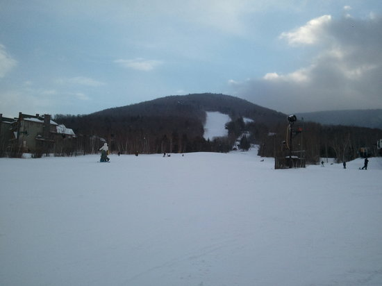 Hunter, NY: one of slopes for beginner