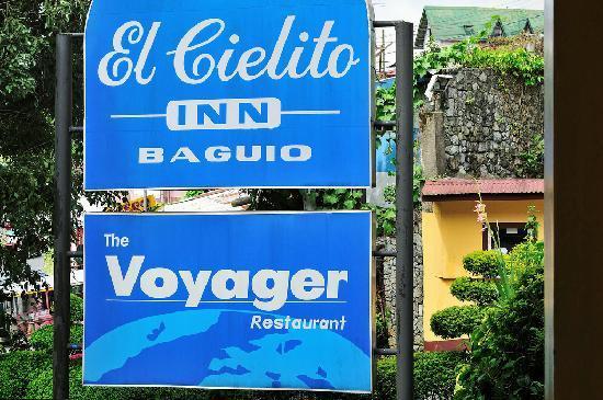 El Cielito Hotel Baguio: business signage