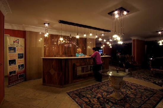 Arabesque Hotel: Reception