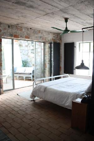 San Rafael, México: ma chambre