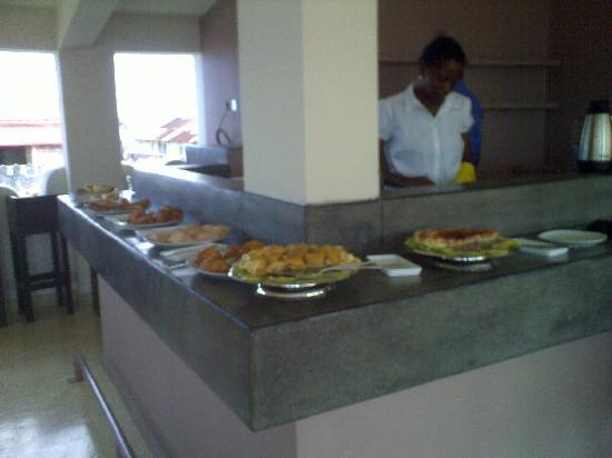 Mashariki Palace Hotel: colazione