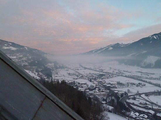 Mittersill, Austria: Blick von der Suite-Terasse 1