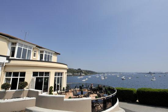 The Greenbank Hotel : The sun-soaked terrace