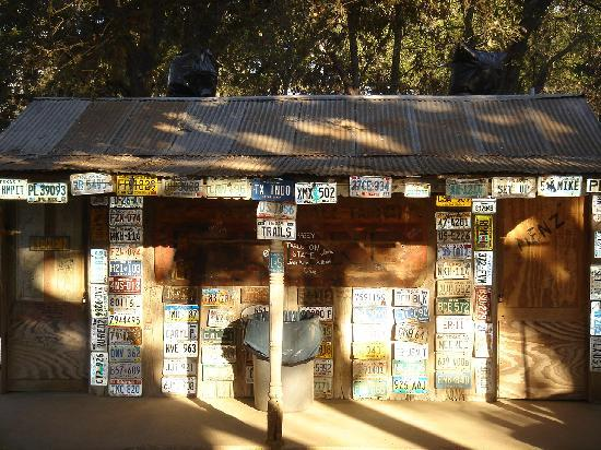 The historic Luckenbach post office/general store