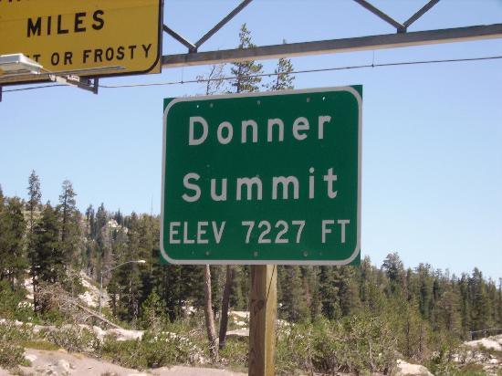 Truckee, Калифорния: Donner Summit