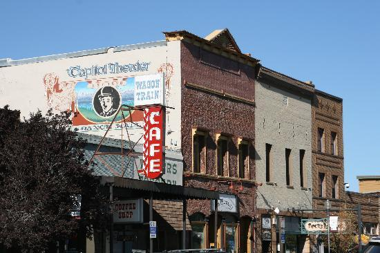 Truckee, Калифорния: Old Town Buildings