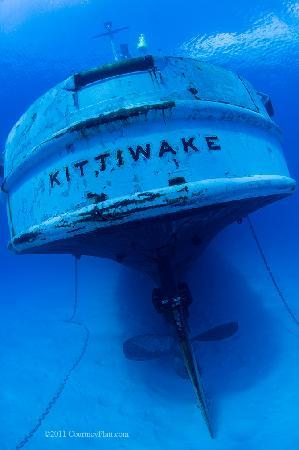 Kittiwake Shipwreck & Artificial Reef: Kittiwake Stern View