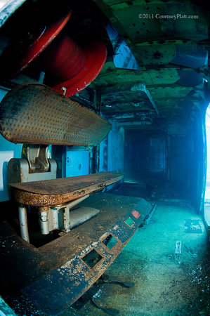 Kittiwake Shipwreck & Artificial Reef: Kittiwake Laundry Room