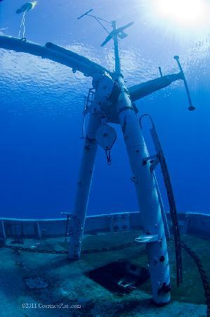 Kittiwake Shipwreck & Artificial Reef: Kittiwake Rear Deck