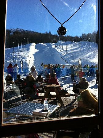 Hotel des Geneys Splendid: sulla neve