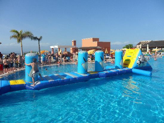 Inflatable fun on saturdays picture of be live family costa los gigantes puerto de santiago - Hotel be live family costa los gigantes puerto de santiago ...