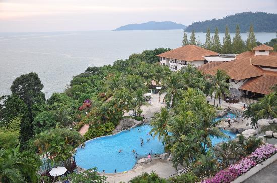 Lumut, Malasia: The resort