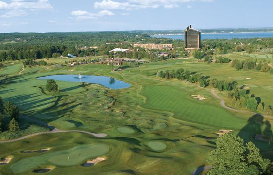 Траверс-Сити, Мичиган: Traverse City area championship golf