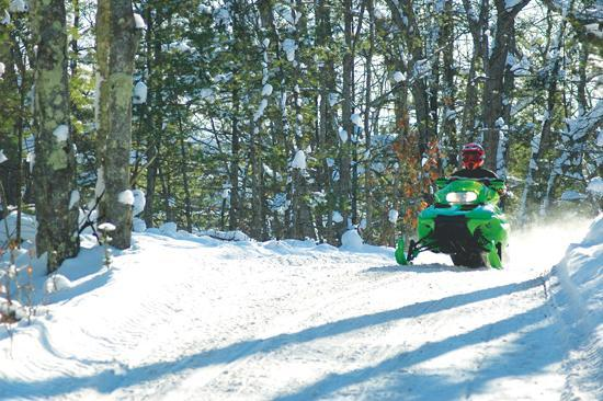 Winter recreation in Traverse City
