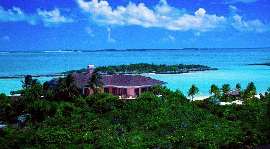 Fowl Cay Resort: Hill House and South Beach