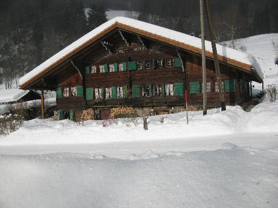 Chalet Tanner en hiver