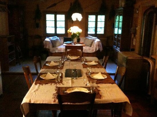 Chalet Tanner : Cuisine