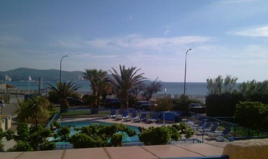 Citotel Hostellerie de la Nartelle : Vue de la terrasse de notre chambre