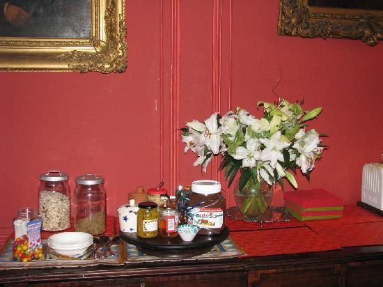 The Stevenson House: ...for the breakfast