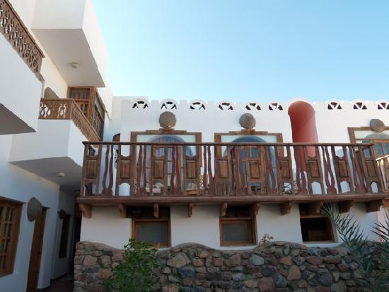 Star Of Dahab Hotel: Balcony outside my room