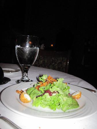 The Firehouse: Mixed Green salad