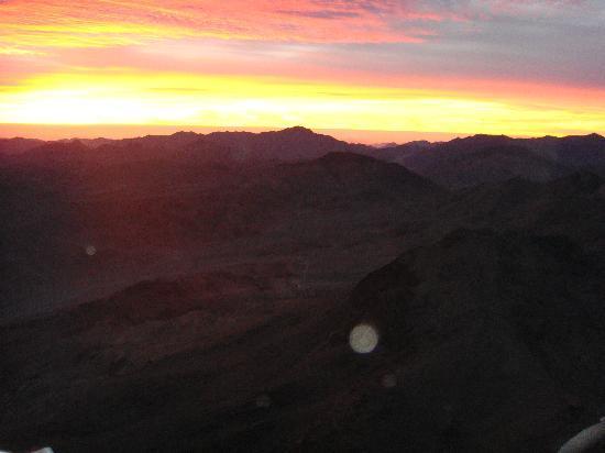 Mount Sinai: sunrise