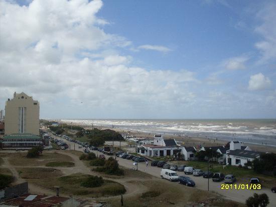 San Bernardo, Argentina: Vista al mar desde la habitacion