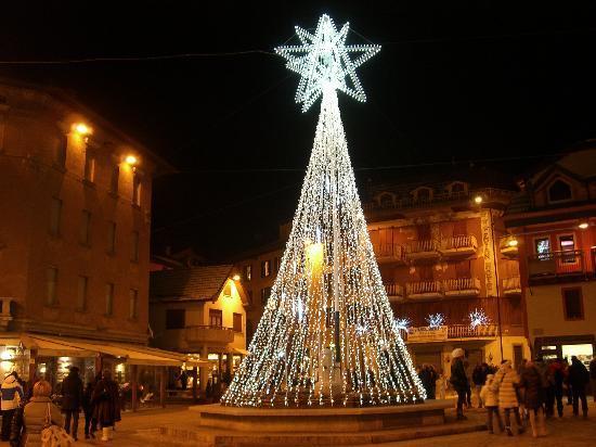 Residence Hotel Raggio di Luce: Weihnachtsimpressionen aus dem Zentrum von Ponte di Legno