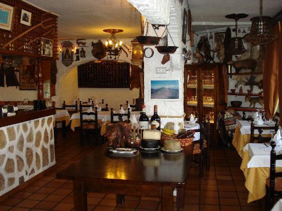 Restaurante Las Cumbres Meson del Cordero: Comedor