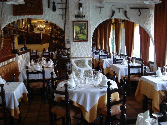 Restaurante Las Cumbres Meson del Cordero : Comedor